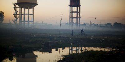 Según el medio Bussiness Insider, India registra múltiples ciudades que tienen la mayor contaminación de aire en el mundo. Foto:Getty Images