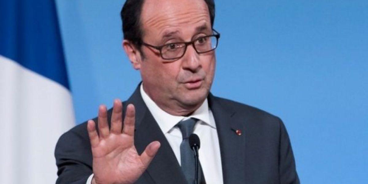 François Hollande renuncia a presentarse a la reelección en 2017