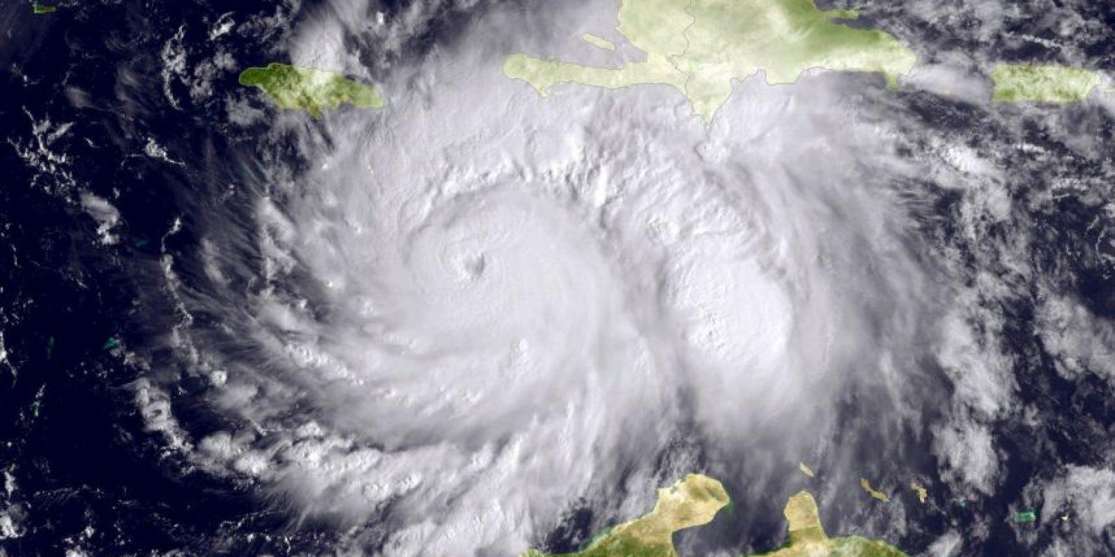 Las bombas de aire tienen la misma fuerza que un huracán. Foto:Getty Images