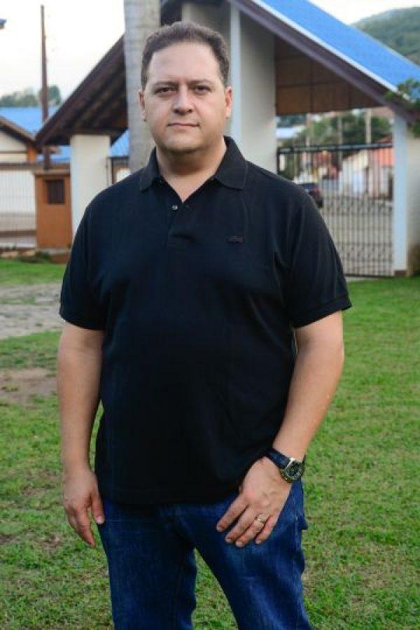 Juan Pablo Escobar durante su conferencia. Foto:Leo Franco