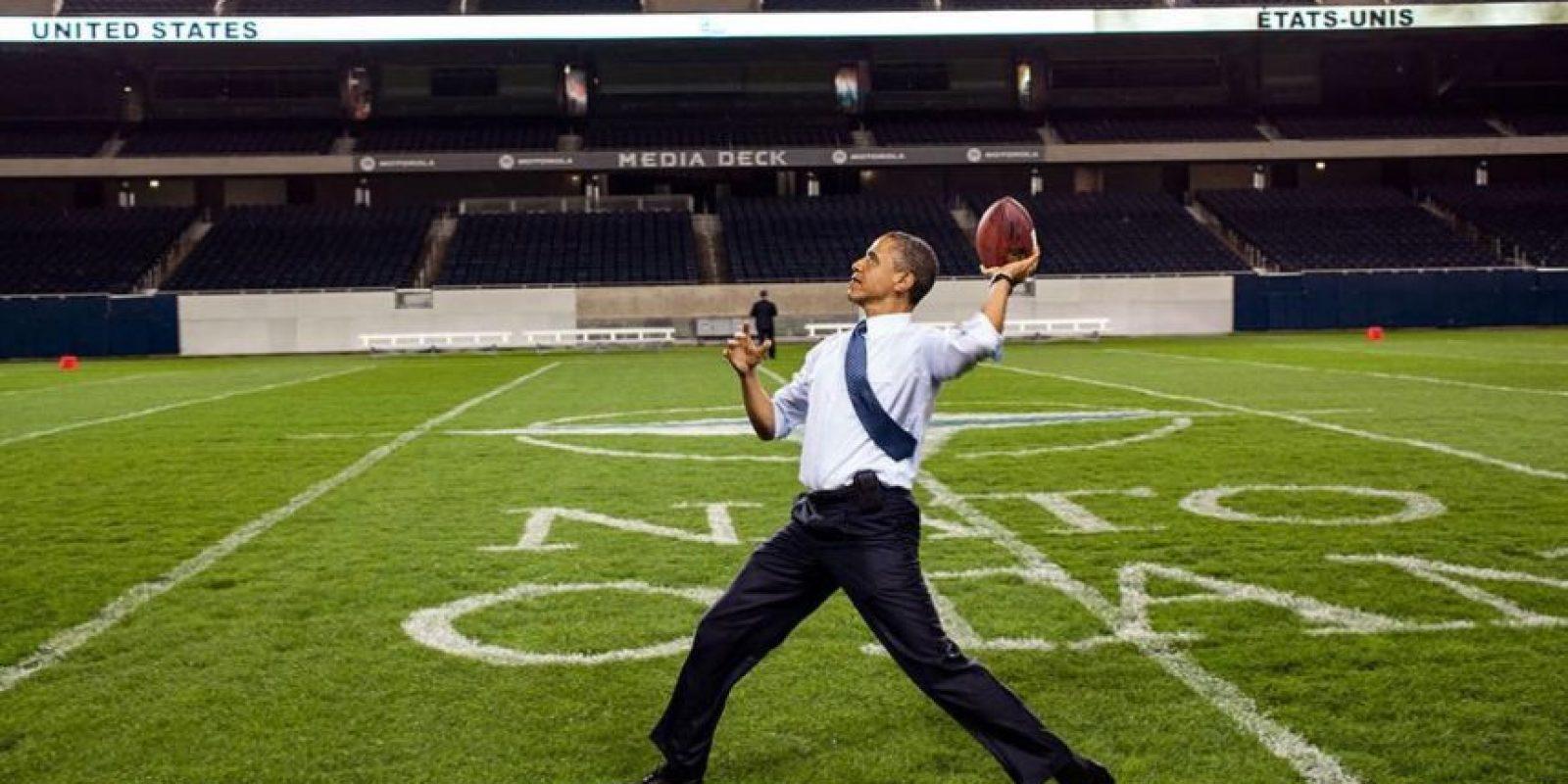 Aunque se sorprendió del salario que gana el comisionado de fútbol americano. Foto:Vía instagram @petesouza