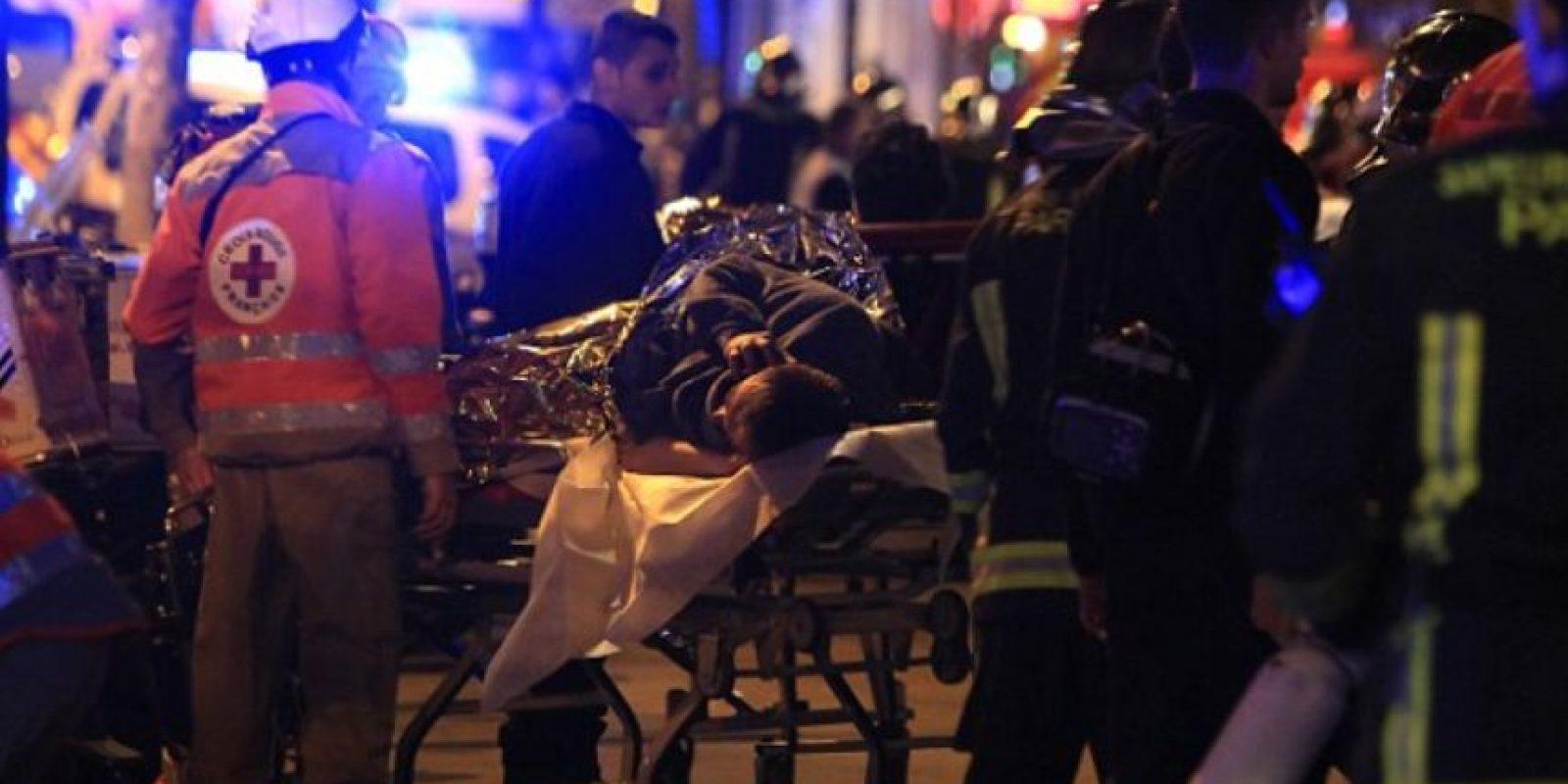 Los malheridos fueron trasladados a hospitales cercanos. Foto:AFP