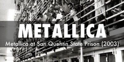 Tal video fue en la Prisión de San Quentin en California Foto:Metallica