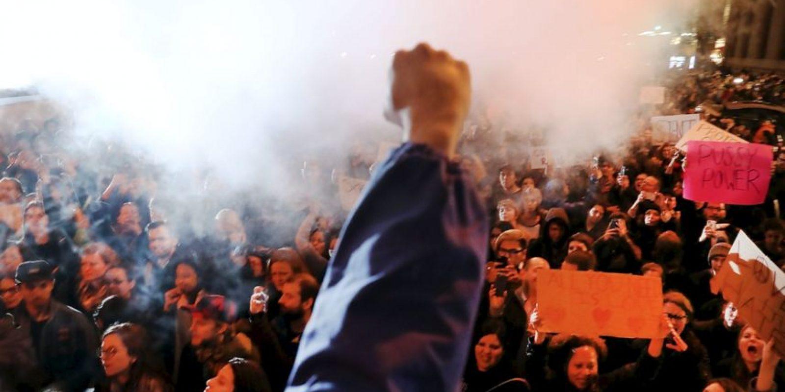 Estados Unidos arde. Foto:AFP