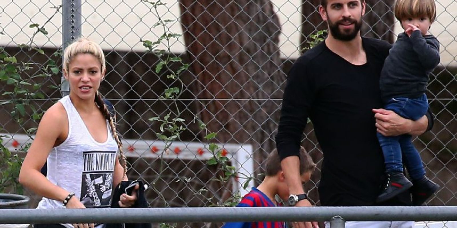 Antonella y Roccuzzo y Shakira no mantienen una buena relación Foto:Grosby Group