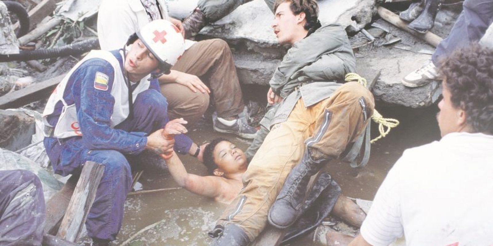 La tragedia de Armero se habría podido evitar si el Estado hubiera hecho caso a las señales y evacuado a los habitantes del pueblo. Foto:EFE