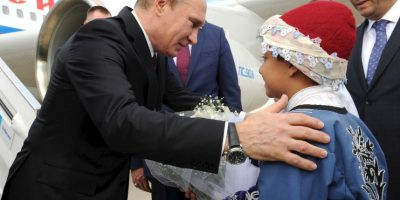 Se indicó que con ese motivo se reunió con el presidente ruso. Foto:AP