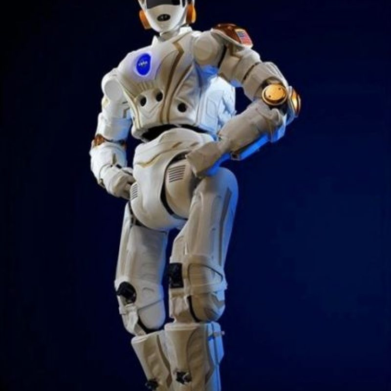 """R5, un prototipo de cómo podrían lucir los """"astronautas robots"""" del futuro Foto:NASA"""