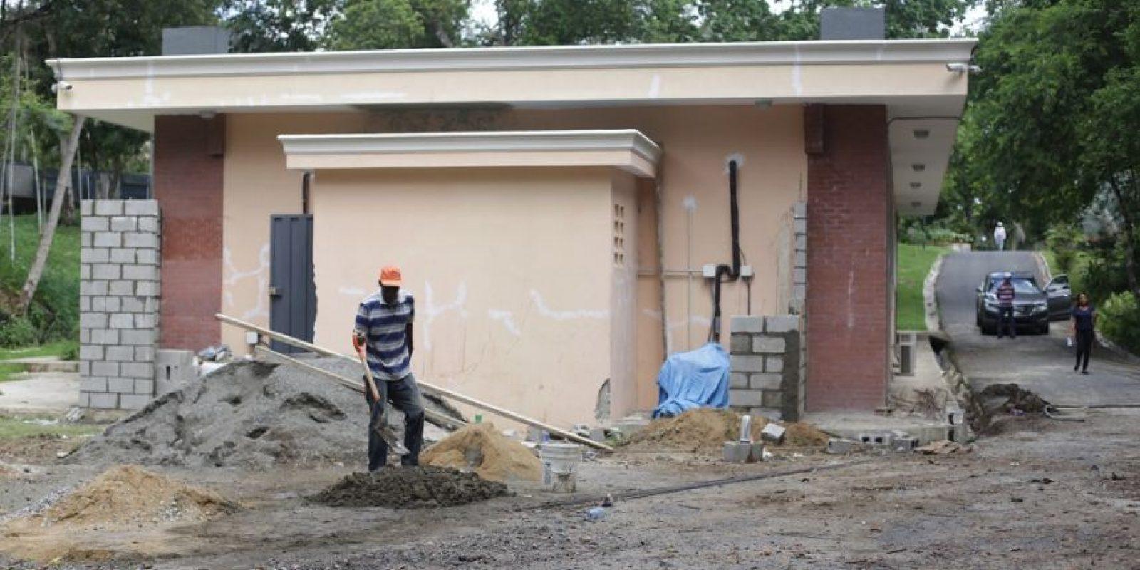 Aquí estará el banco de semillas del parque, pero tiene dos años en construcción y la falta de recursos hace imposible su terminación. Foto:ROBERTO GUZMÁN