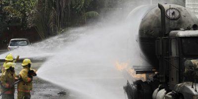 Cinco de siete heridos en estados críticos en otra explosión planta de gas