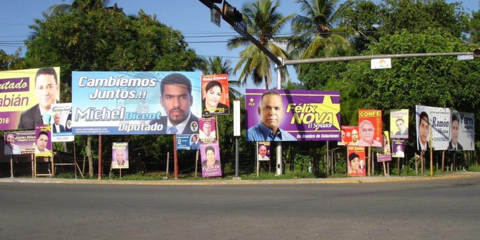 La campaña electoral se inició de hecho hace varios meses, sobre todo con aspirantes al Congreso y los ayuntamientos. Foto:EFE