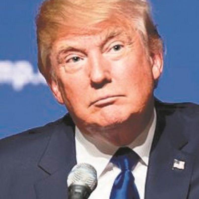 """Advertencia. """"Tomaremos a los criminales y a quienes tengan antecedentes y los vamos a sacar del país""""Donald Trump Foto:Fuente externa"""