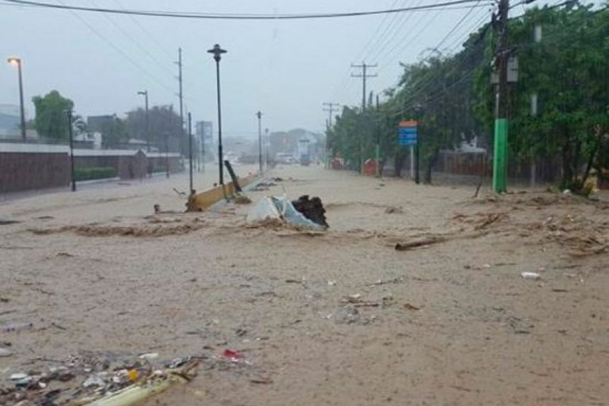 Calles en Puerto Plata Foto:Fuente externa
