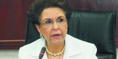 Licelott Marte. Presidenta Cámara de Cuentas. Foto:Fuente externa