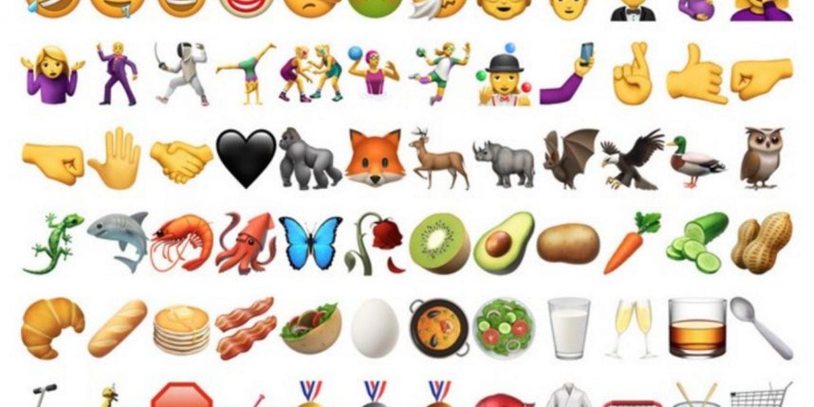 iOS 10 se actualizará pronto y traerá grandes sorpresas: finalmente incorporará los nuevos emojis de Unicode. Los mismos que se esperan desde hace tiempo. Foto:Apple/Unicode