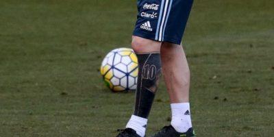 Lionel Messi: Así luce hoy en día el tatuaje del argentino Foto:Twitter AFA