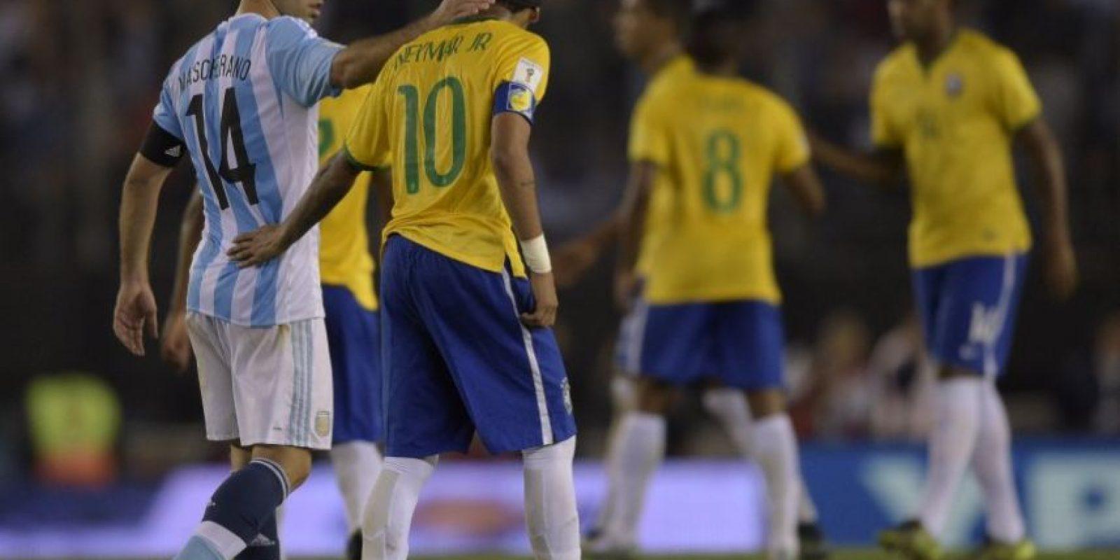 Argentina-Brasil o Inglaterra-Escocia, son algunos de los clásicos de la seman Foto:AFP