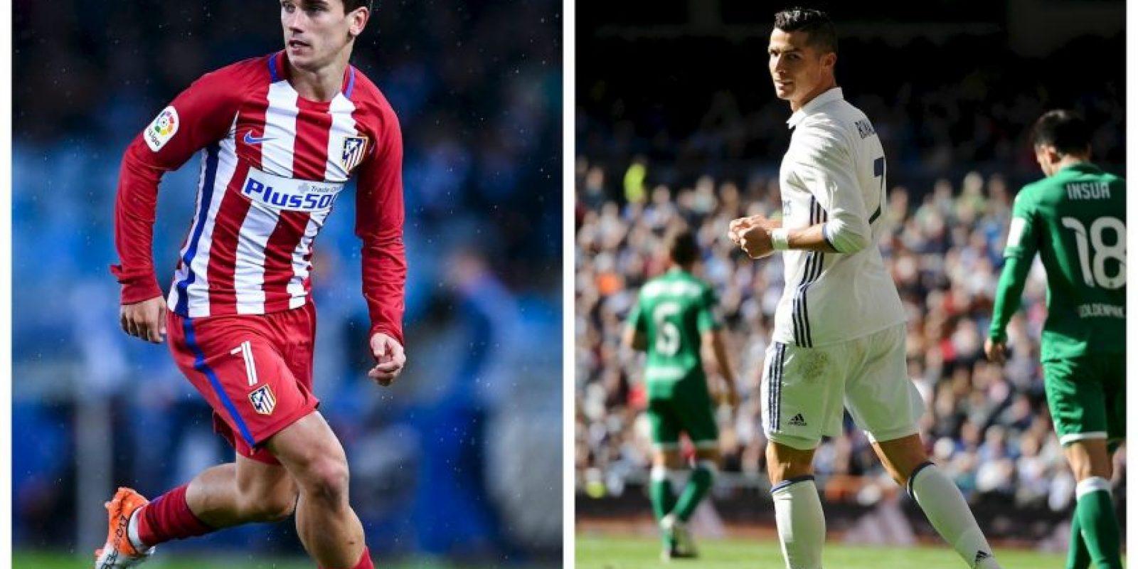 Atlético de Madrid-Real Madrid Foto:Getty Images