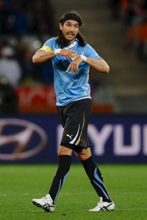 """Sebastian Abreu. El """"Loco"""" uruguayo ahora juega en el Santa Tecla de El Salvador Foto:Getty Images"""