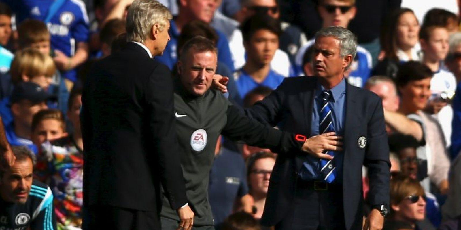 Mourinho y Wenger se han lanzado duras declaraciones cruzadas Foto:Getty Images