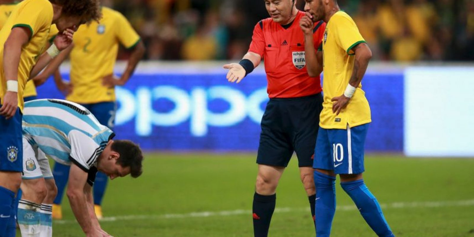 """Brasil vs. Argentina. Es conocido como el """"Clásico mundial"""" Foto:Getty Images"""