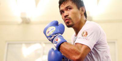 Manny Pacquiao busca ser el primer senador y campeón de box