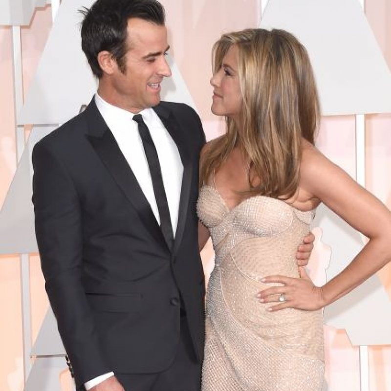 Jennifer Aniston y Justin Theroux Foto: Getty Images