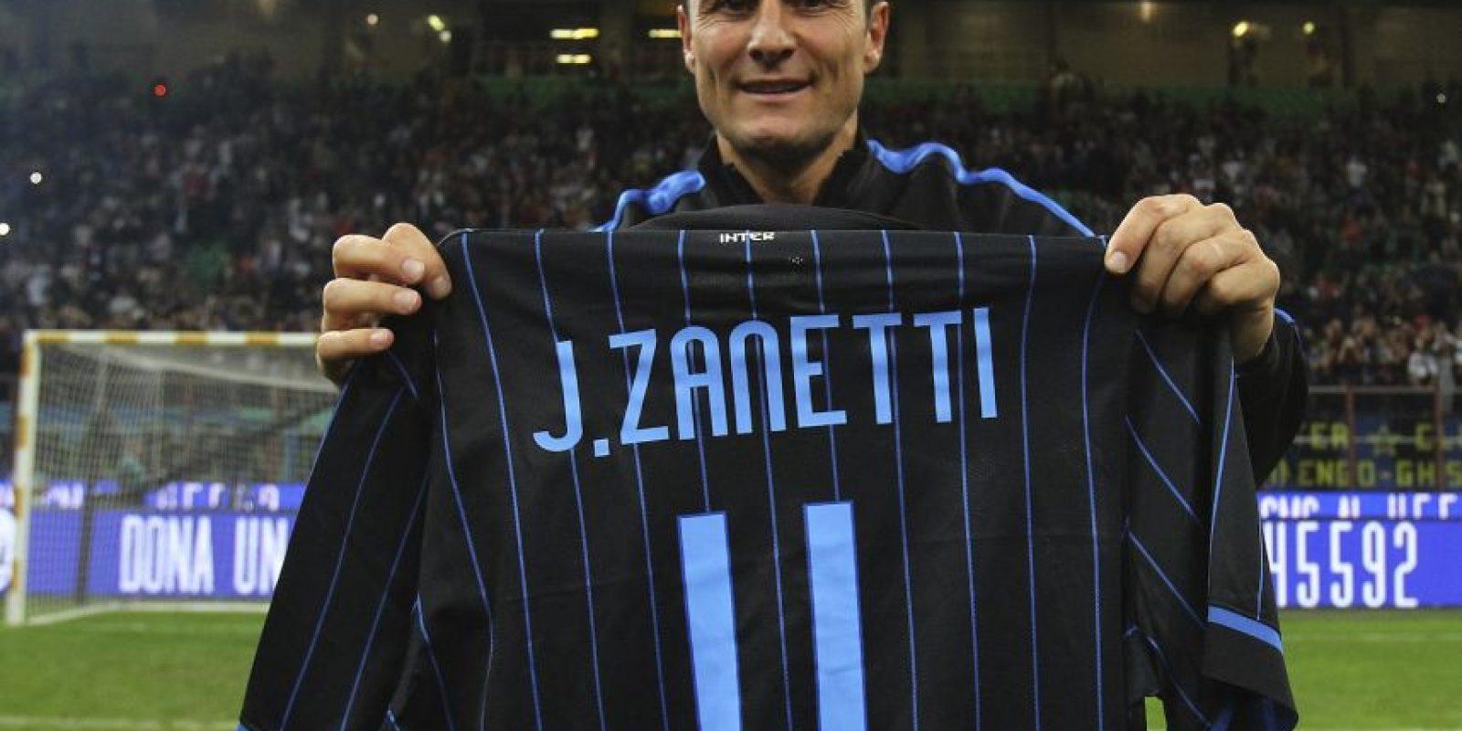 Javier Zanetti (lateral derecho) Foto:Getty Images