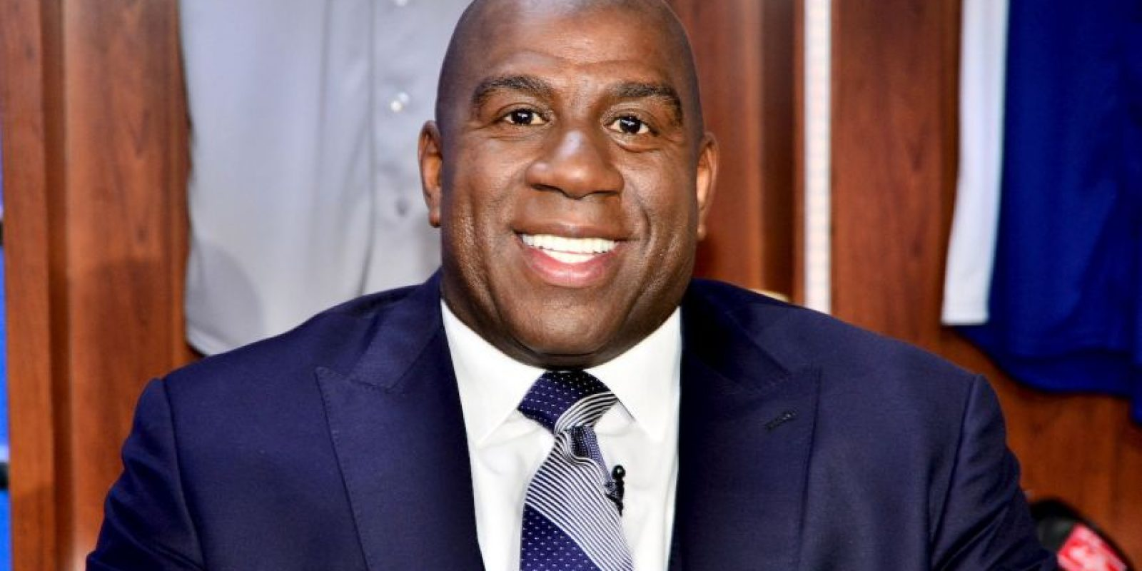 Magic Johnson, exbasquetbolista Foto: Getty Images