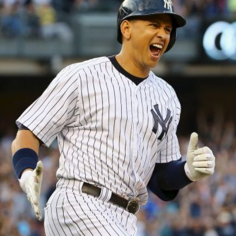 Alex Rodriguez, exbeisbolista Foto:Getty Images