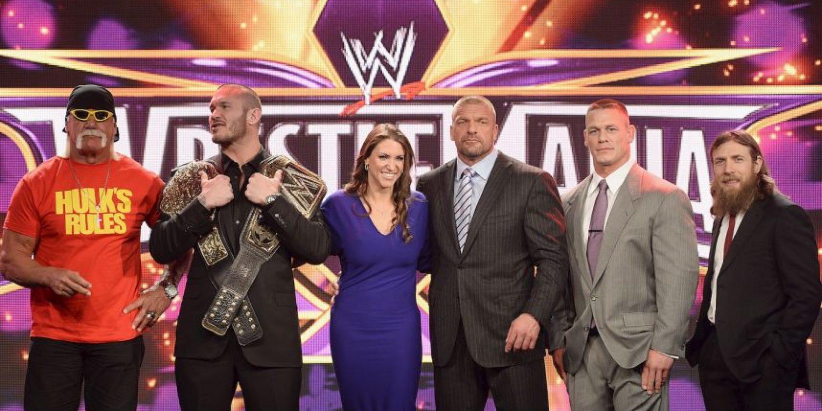 Hulk Hogan podría regresar a WWE para Wrestlemania 33 Foto:Getty Images