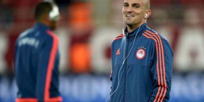 Esteban Cambiasso. El argentino juega en el Olympiacos de la Superliga de Grecia Foto:Getty Images