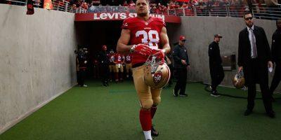 Sin embargo, Jarryd Hayne también jugó fútbol americano Foto:Getty Images