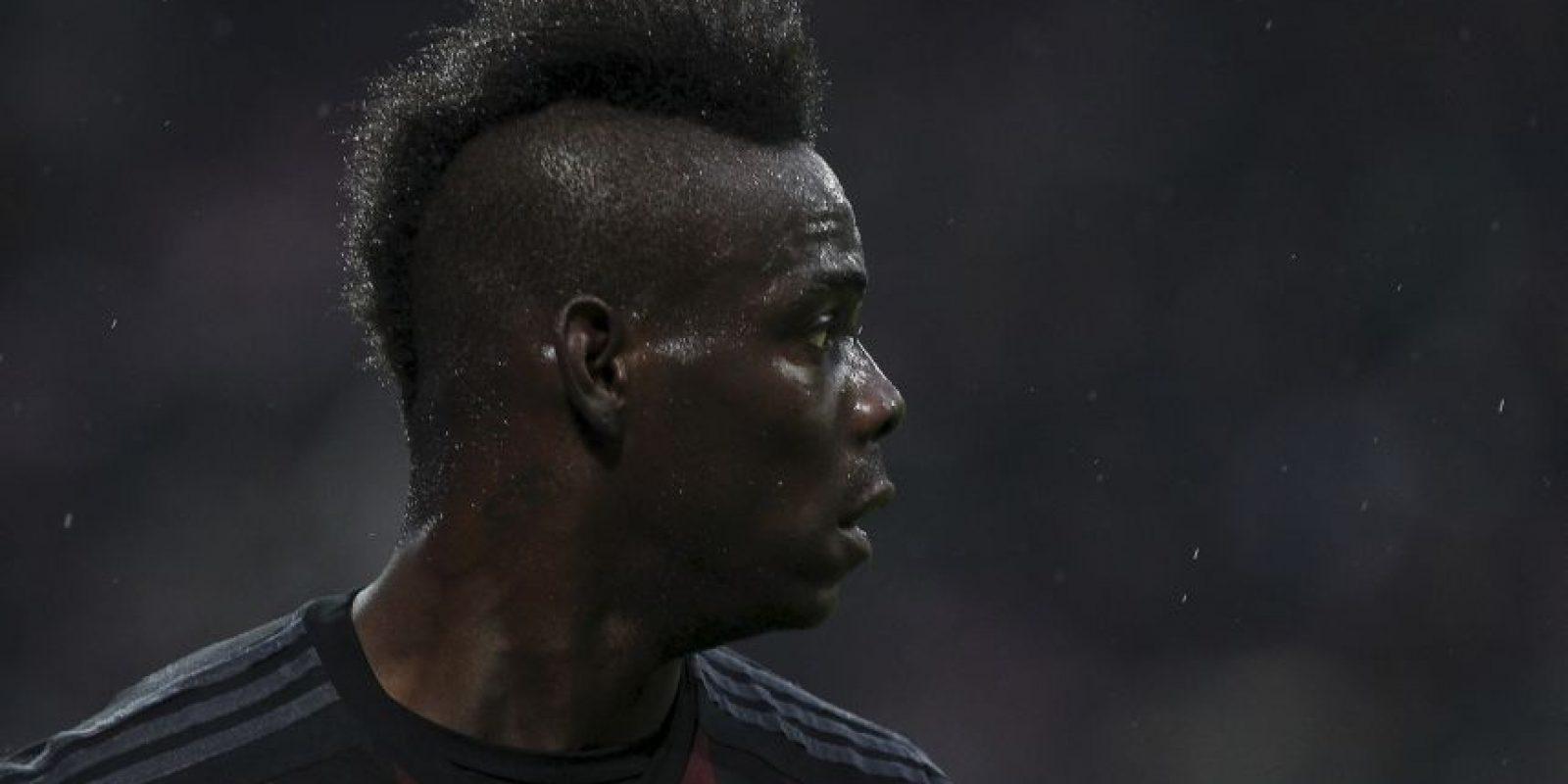 Mario Balotelli. Ha marcado los mismo goles que en las últimas dos campañas Foto:Getty Images
