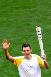 Lucio. El veterano exseleccionado de Brasil ahora juega en el Waldhof Mannheun, de la cuarta división de Alemania Foto:Getty Images