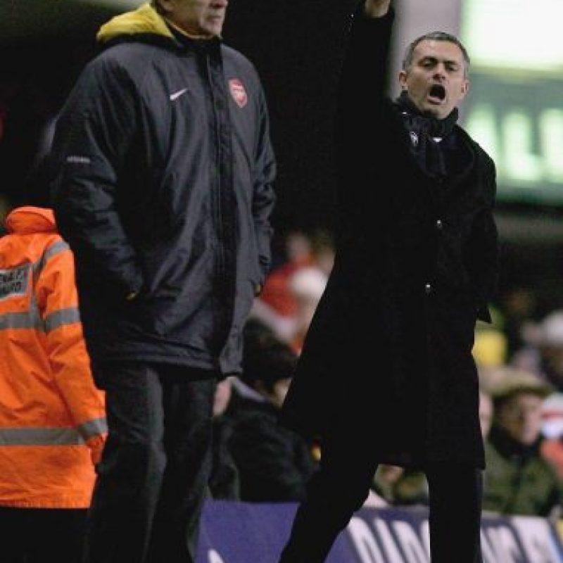 Mourinho no dejó pasar su conferencia de prensa y le mandó un recado a Arsene Wenger Foto:Getty Images