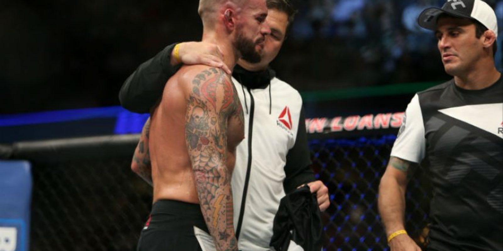 Exluchador de WWE lanza reto a CM Punk Foto:Getty Images