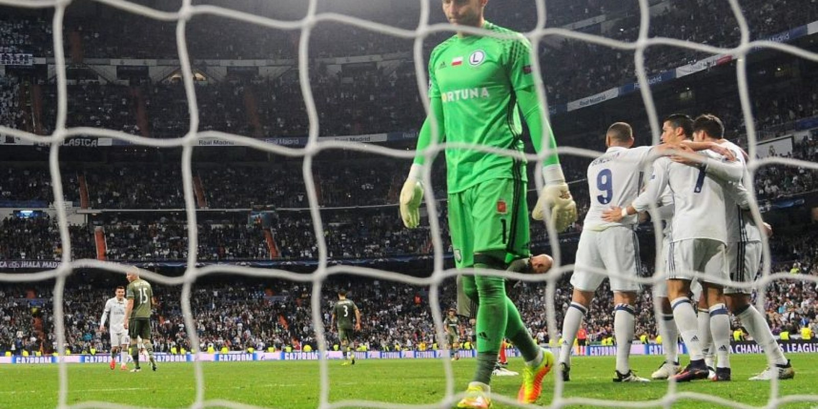 Real Madrid se mide al modesto Legia de Varsovia Foto: Getty Images