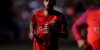 Sergio Busquets (Barcelona) Foto:Getty Images