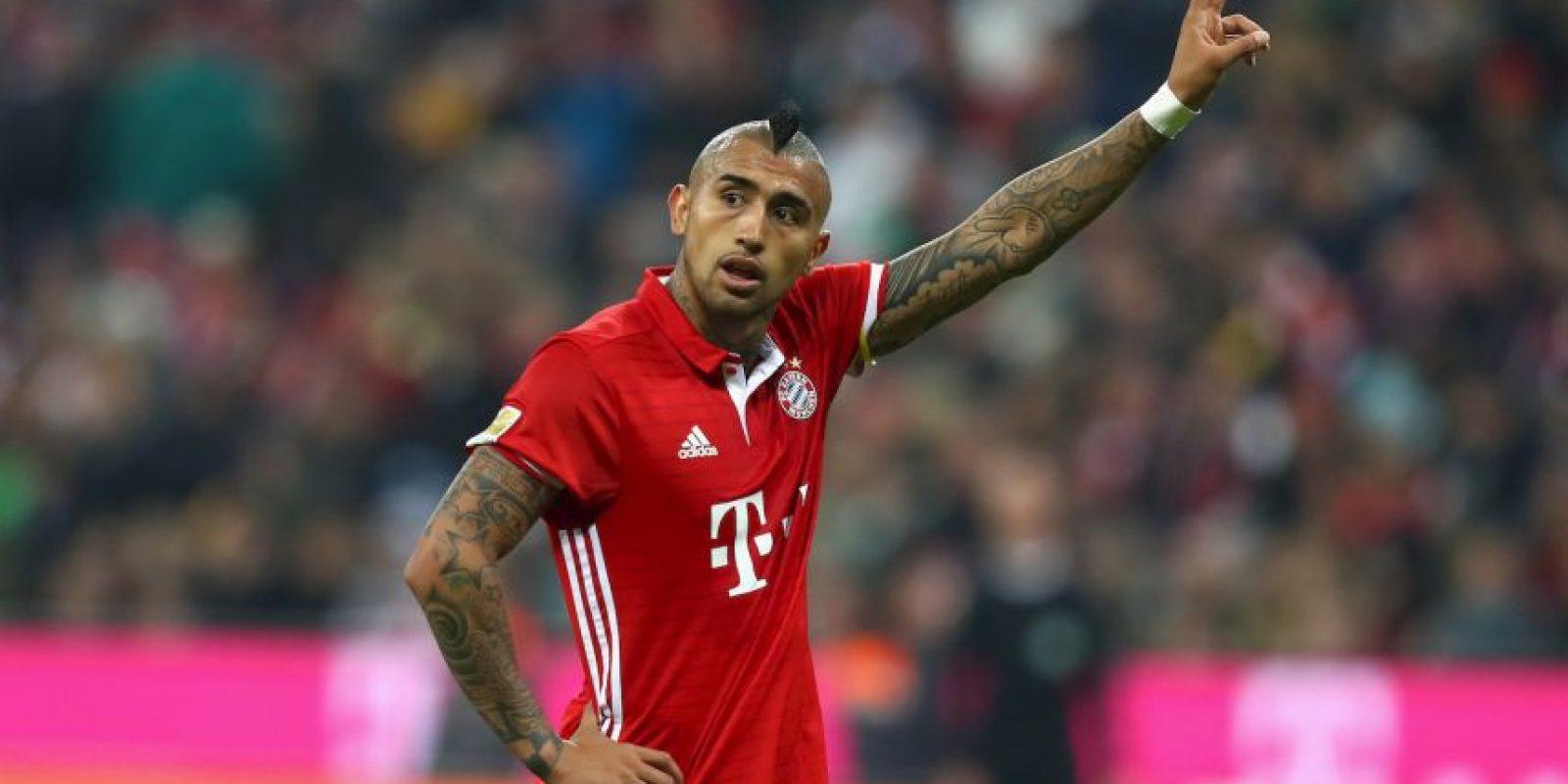 Arturo Vidal (Bayern Munich) Foto:Getty Images