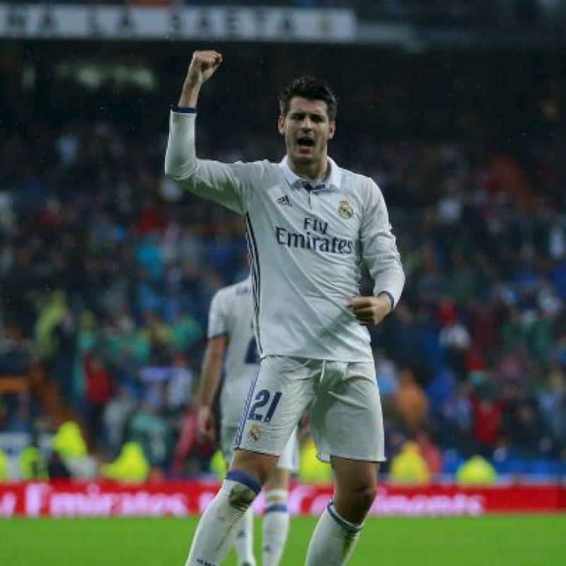 Alvaro Morata. Es un cambio indispensable en el Real Madrid. El atacante suma dos asistencias y dos dianas en los últimos tres partidos de los blancos Foto:Getty Images