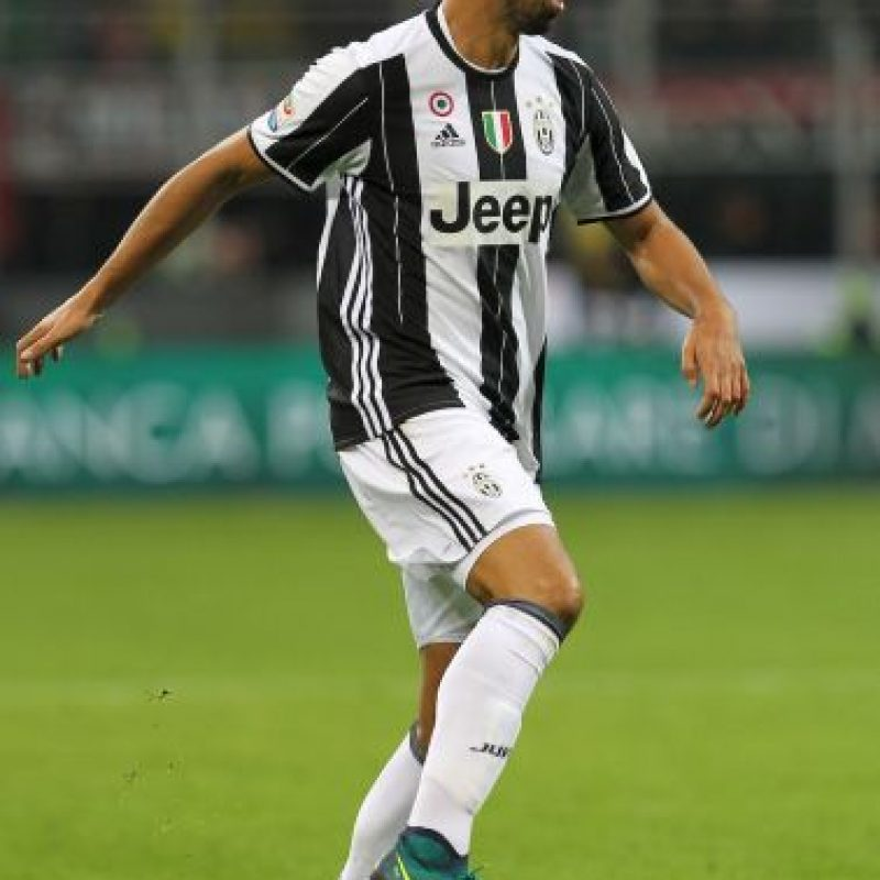 Sami Khedira. El ex del Real Madrid se ha ganado la titularidad en Juventus Foto:Getty Images