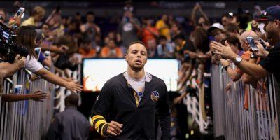 Es el jugador que menos partidos necesitó para llegar a los 100 puntos en triples: 20 Foto:Getty Images