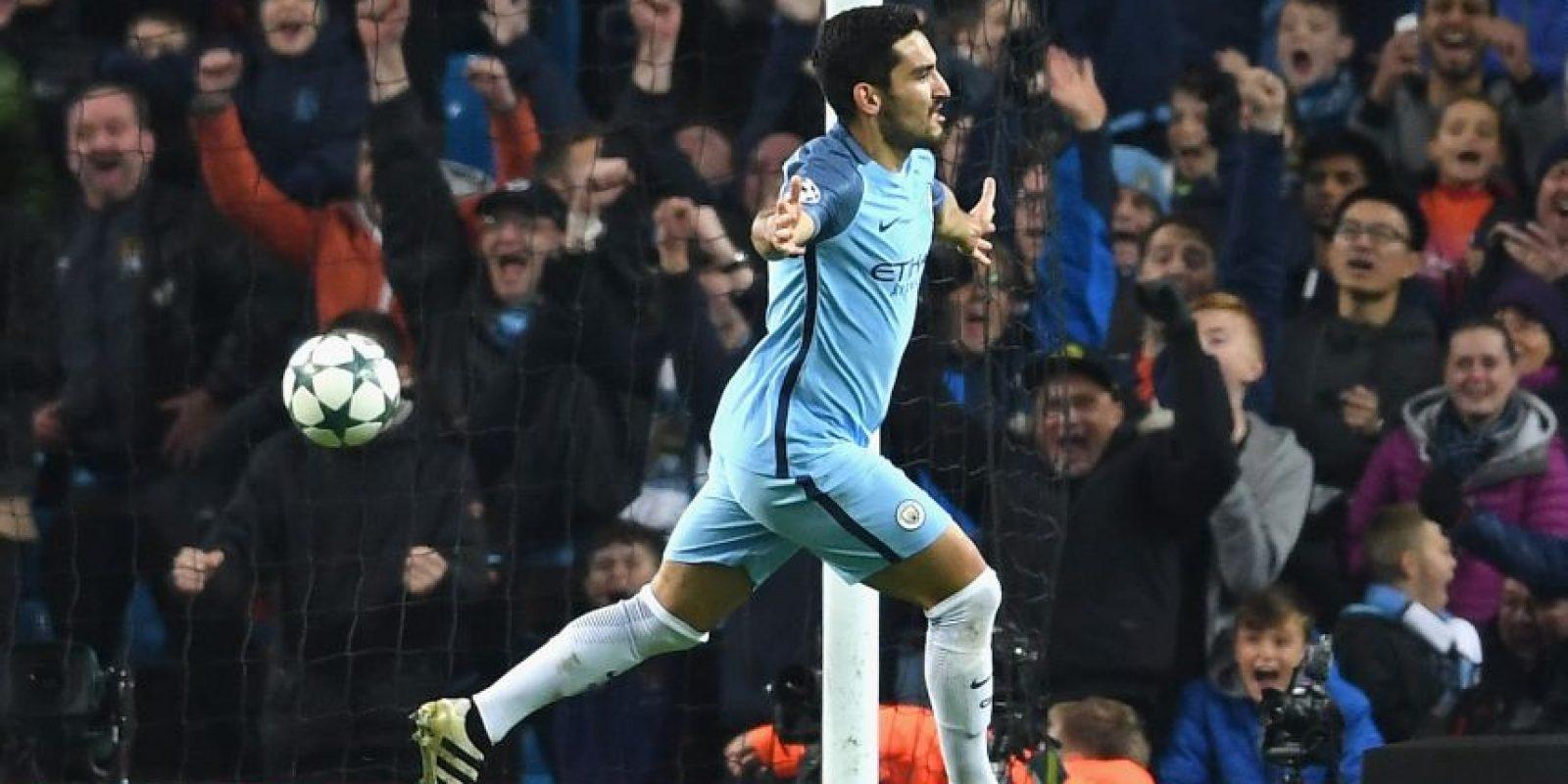 Ilkay Gundogan. Se ha vuelto vital en el esquema del Manchester City Foto:Getty Images