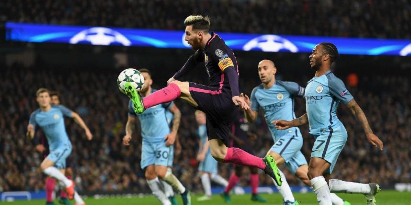 Lionel Messi se volvió viral al ser comparado con una iguana Foto:Getty Images