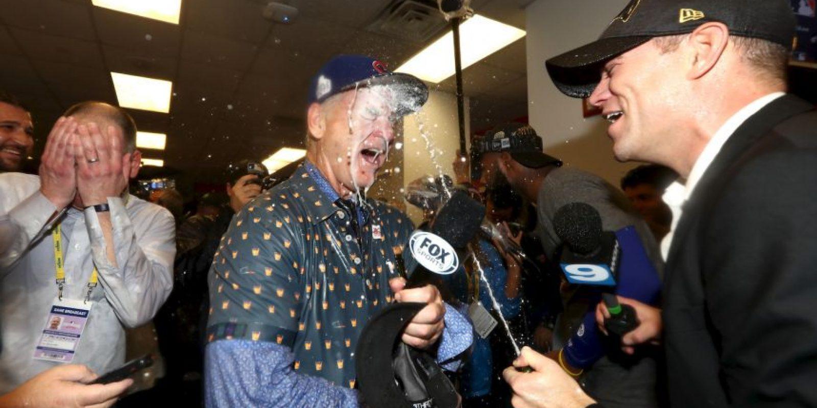 Bill Murray festejó con todo Foto:Getty Images