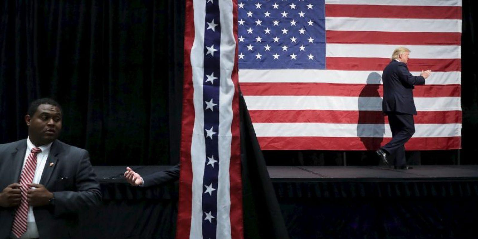 Todo está listo en Estados Unidos para la elección presidencial Foto:Getty Images