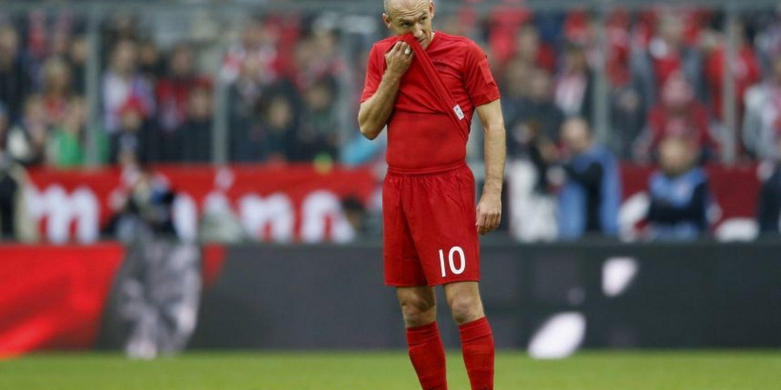 Arjen Robben (puntero por derecha) Foto:Getty Images