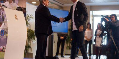 Cristiano Ronaldo extendió su vínculo con Real Madrid hasta 2021 Foto:Getty Images