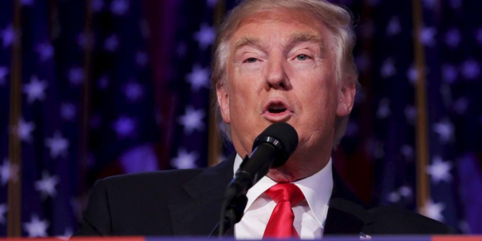 Así fue el triunfo de Trump Foto:Getty Images